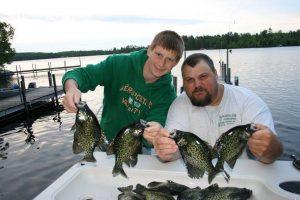 Lake Vermillion Crappie Fishing