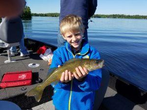 Kids Catch Walleyes Too!