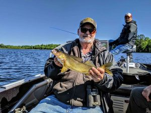 George with a Walleye