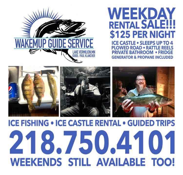 Lake Vermilion Ice Fishing
